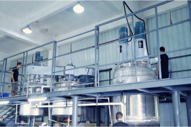 自动混合和研磨生产线