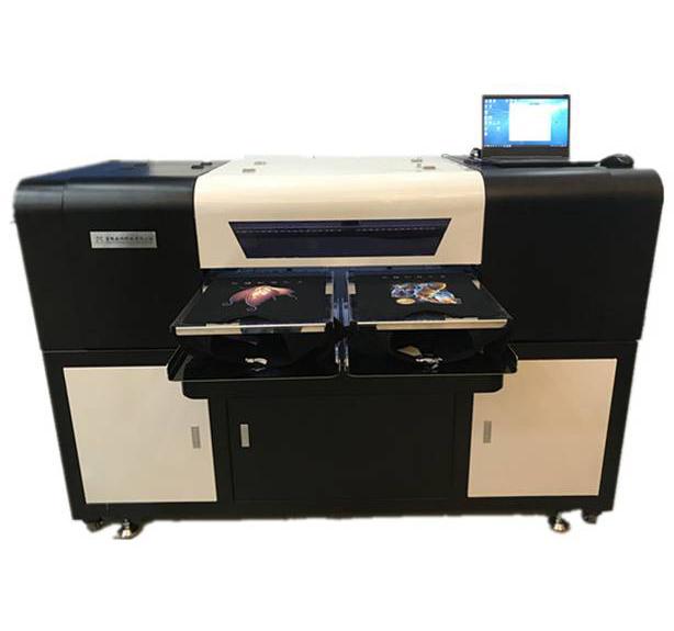 双工位数码白墨直喷打印机